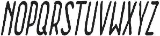Tangerine Light Italic otf (300) Font UPPERCASE