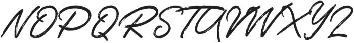 Tangier Script otf (400) Font UPPERCASE