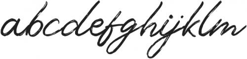 Tangier Script otf (400) Font LOWERCASE