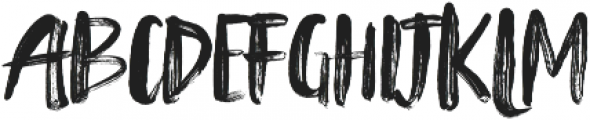 Tanktop Brush Alternative Fonts Regular ttf (400) Font UPPERCASE