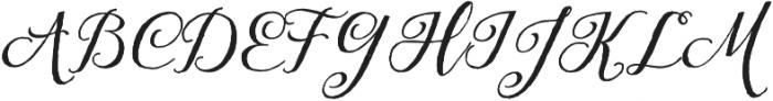 Tansy otf (400) Font UPPERCASE