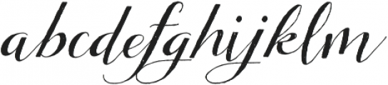 Tansy otf (400) Font LOWERCASE
