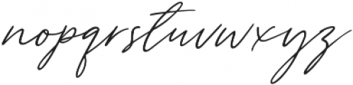 Tantinotes otf (400) Font LOWERCASE