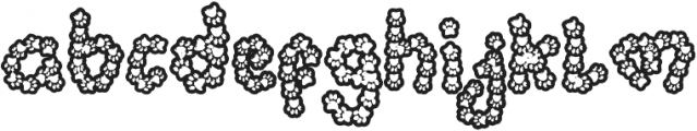 Tapak Kirix otf (400) Font LOWERCASE
