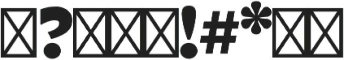 Tarif Arabic Extrabold otf (700) Font OTHER CHARS