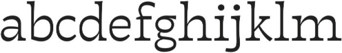 Tarif Arabic Light otf (300) Font LOWERCASE