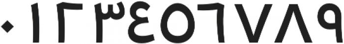 Tarif Arabic Medium otf (500) Font OTHER CHARS