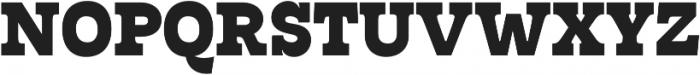 Tarif Extrabold otf (700) Font UPPERCASE