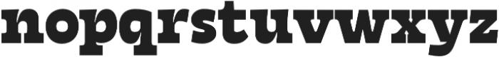 Tarif Extrabold otf (700) Font LOWERCASE