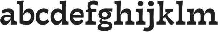 Tarif Medium otf (500) Font LOWERCASE