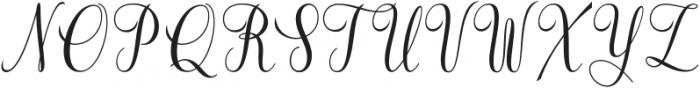 Tarnese otf (400) Font UPPERCASE