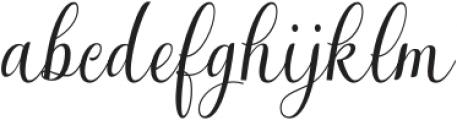 Tarnese otf (400) Font LOWERCASE