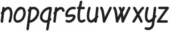 Tarnip Regular otf (400) Font LOWERCASE