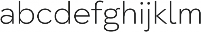 Taro ExtraLight otf (200) Font LOWERCASE