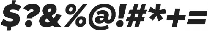 Taro Heavy Italic otf (800) Font OTHER CHARS