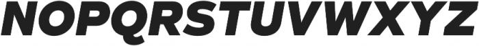 Taro Heavy Italic otf (800) Font UPPERCASE
