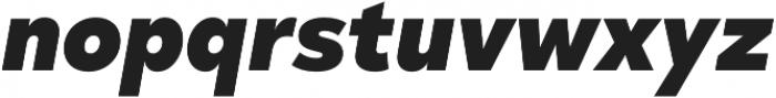 Taro Heavy Italic otf (800) Font LOWERCASE