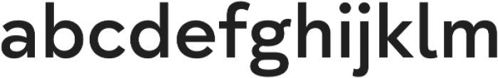 Taro SemiBold otf (600) Font LOWERCASE
