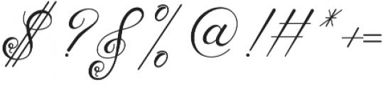 Tashia Regular otf (400) Font OTHER CHARS