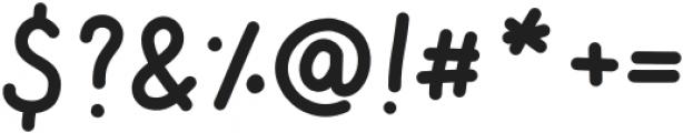 TasteOfSweet otf (400) Font OTHER CHARS