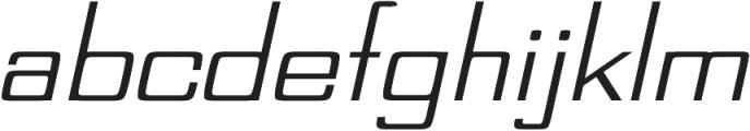Tasty regular otf (400) Font LOWERCASE
