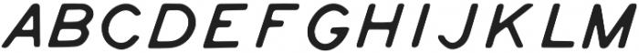 Tate Italic otf (400) Font LOWERCASE