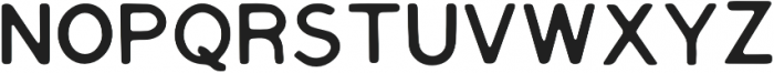 Tate Regular otf (400) Font UPPERCASE