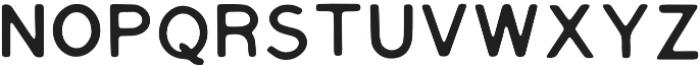 Tate Regular otf (400) Font LOWERCASE