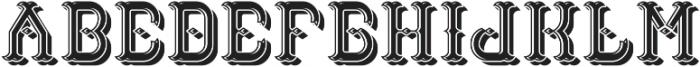 TattooFont LightShadow otf (300) Font UPPERCASE