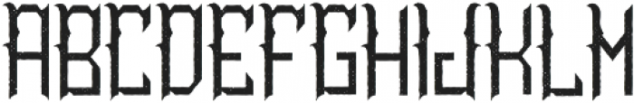 TattooParlor Aged otf (400) Font LOWERCASE