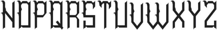 TattooParlor Regular otf (400) Font LOWERCASE