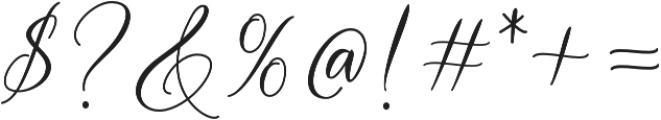 Tatyana otf (400) Font OTHER CHARS