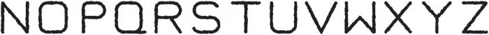 Taurus Mono Distress otf (400) Font UPPERCASE