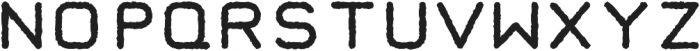 Taurus Mono Distress otf (700) Font UPPERCASE