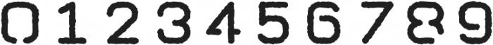 Taurus Mono Stencil Distress otf (700) Font OTHER CHARS