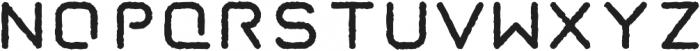 Taurus Mono Stencil Distress otf (700) Font UPPERCASE