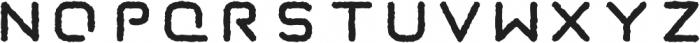 Taurus Mono Stencil Distress otf (700) Font LOWERCASE