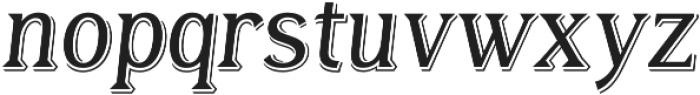 Tavern Alt Light Italic otf (300) Font LOWERCASE