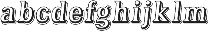Tavern Alt Open L Regular Italic otf (400) Font LOWERCASE