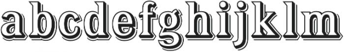 Tavern Alt Open L Regular otf (400) Font LOWERCASE