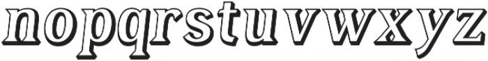 Tavern Alt Open Regular Italic otf (400) Font LOWERCASE