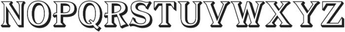 Tavern Alt Open S Regular otf (400) Font LOWERCASE