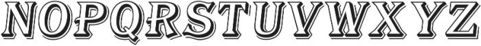 Tavern Alt Open SL Regular Italic otf (400) Font LOWERCASE