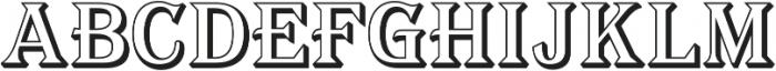 Tavern Alt Open X Regular otf (400) Font UPPERCASE