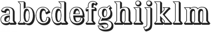 Tavern Alt Open X Regular otf (400) Font LOWERCASE