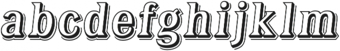 Tavern Alt Open XL Regular Italic otf (400) Font LOWERCASE
