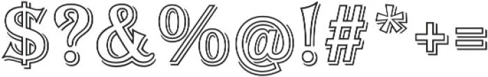 Tavern Alt Out XL Regular otf (400) Font OTHER CHARS