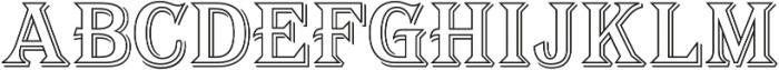 Tavern Alt Out XL Regular otf (400) Font UPPERCASE