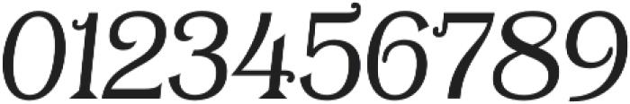 Tavern Alt Plain Light Italic otf (300) Font OTHER CHARS