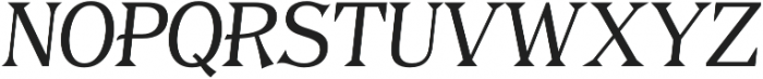 Tavern Alt Plain Light Italic otf (300) Font UPPERCASE